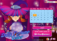 Daily Fortune Teller game
