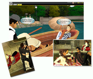 3D Avatar Love Chat Game: Meet New People