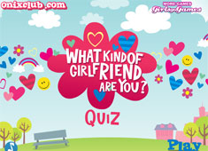 The Girlfriend Quiz game