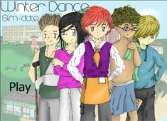 Winter Dance Sim Date game