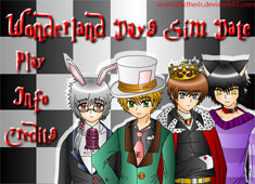 Wonderland Days Sim Date game